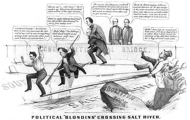 Political 'Blondins' Crossing Salt River