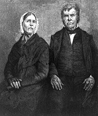 Rev. Peter Cartwright and his wife