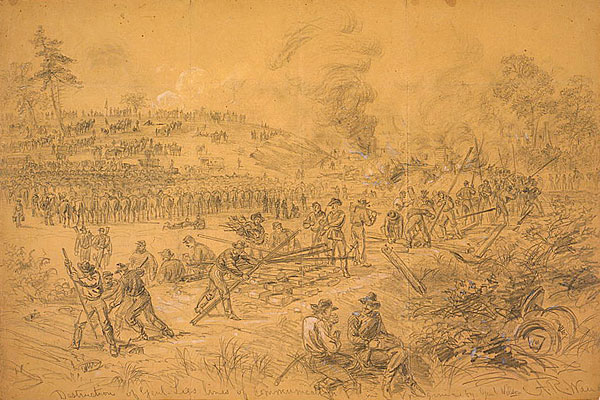 Destruction of General Lee's Lines of Communication in Virginia by General Wilson