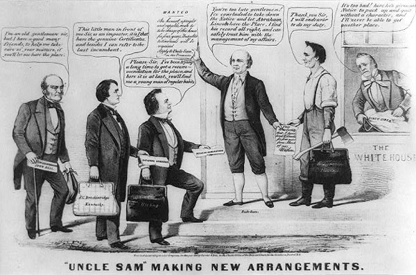 Uncle Sam Making New Arrangements