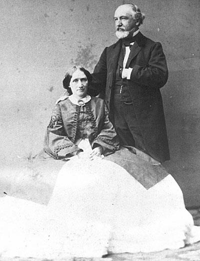Norman B. Judd and Adeline Rossiter Judd