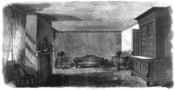 Parlor in Springfield, 1864