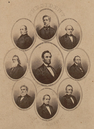 Abraham Lincoln and His Cabinet
