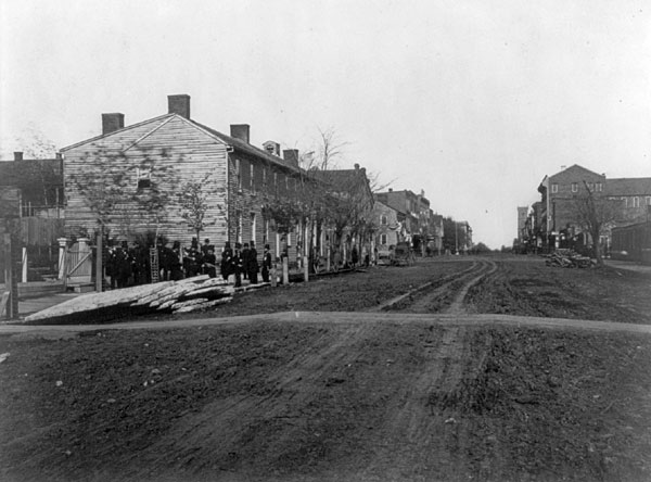 Street in Springfield, Illinois