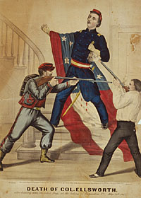 Death of Col. Ellsworth