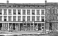 sketch of C.M. Smith Store