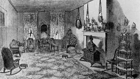 Front Parlor of the Lincoln Home