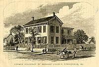 Former Residence of Abraham Lincoln
