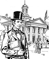 Lincoln Stumps for the Legislature