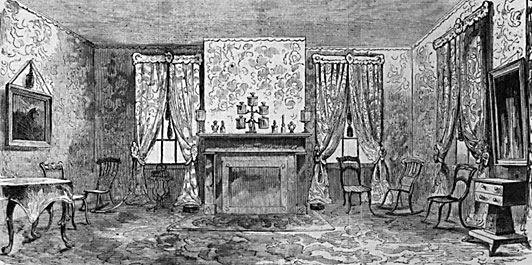 Sitting Room of the Lincoln Home