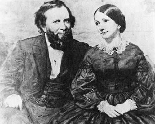 Joshua and Fanny Speed