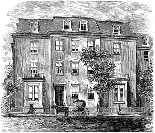Sumner's Washington Residence
